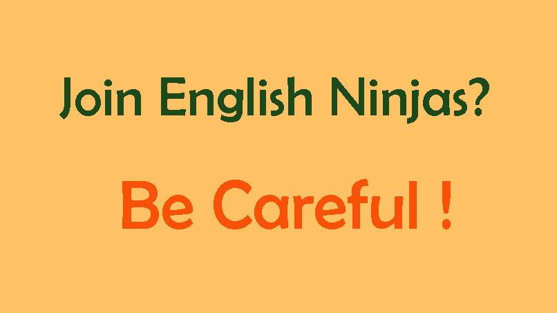 反推 誠信令人懷疑的English Ninjas線上英文,註冊前請三思