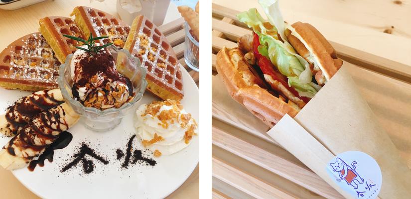 春坂 Harusaka 鬆餅。台中后里美食推薦。寵物友善的放鬆小店(含菜單)