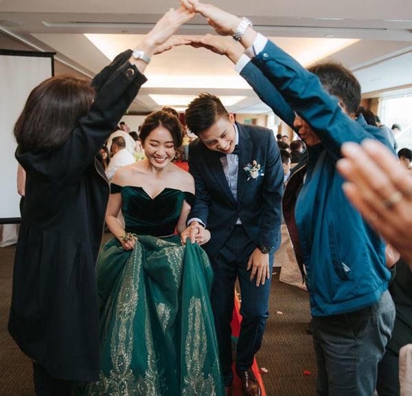 婚禮 鈺婷 & 國軒 台南 香格里拉遠東飯店 成功廳